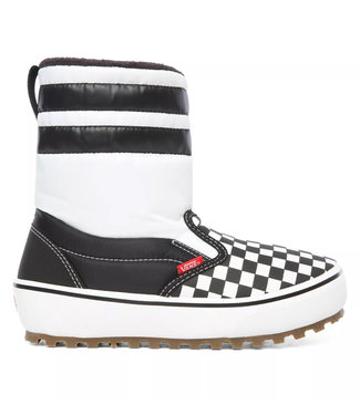 Vans Youth Slip-On Snow Boot MTE Checker