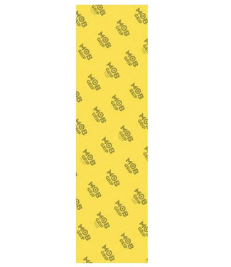 """MOB Clear Yellow 9"""" Griptape"""