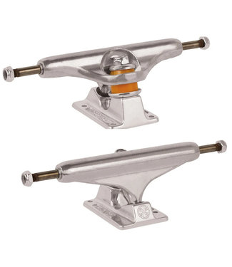 Independent 144 Stage 11 Forged Hollow Trucks Silver
