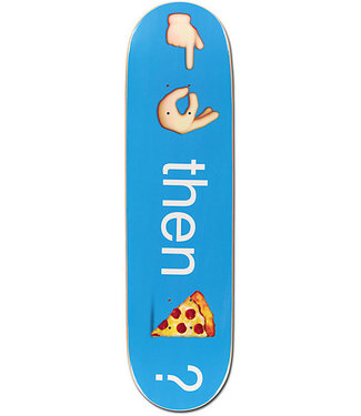 "Pizza Skateboards Emoji 7.75"" Skateboard Deck"