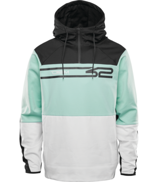 Thirty-Two Signature Tech Hoodie White/Mint