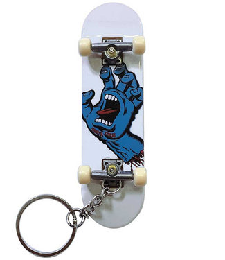 Santa Cruz Screaming Hand Finger Board Keychain
