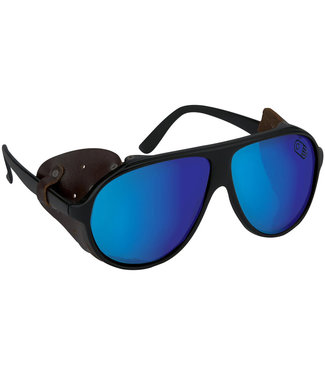 Airblaster Polarized Glacier Glasses Matte Black