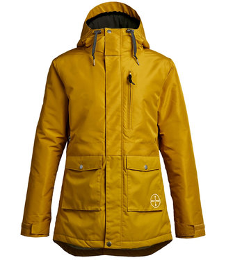 Airblaster Stay Wild Parka Dark Gold