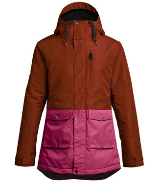 Airblaster Stay Wild Oxblood Womens Snowboard Parka Jacket