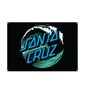 Santa Cruz Wave Dot Flag OS