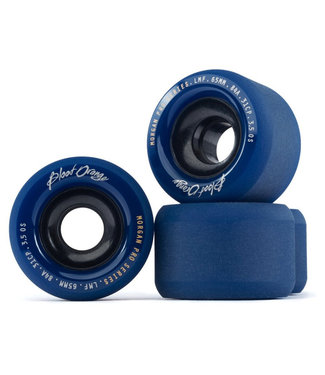 Blood Orange Morgan Pro 65mm Wheels 84A Navy/Black