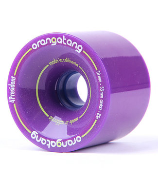 Orangatang 4 President 70mm 83A Purple Wheels