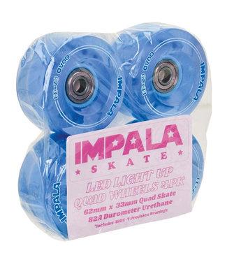 Impala Light Up Wheel 4 Pack 62mm 82 A Blue
