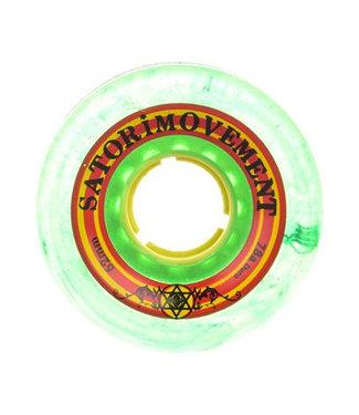 Satori Lil Nuggs Rasta 78A Skateboard Wheels