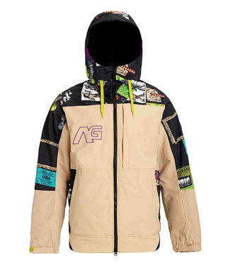 Analog Greed Snowboard Jacket Safari/Flye