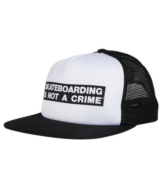 Santa Cruz Not A Crime Cap White/Black O/S