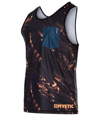 Mystic Stone Tanktop Quickdry Orange