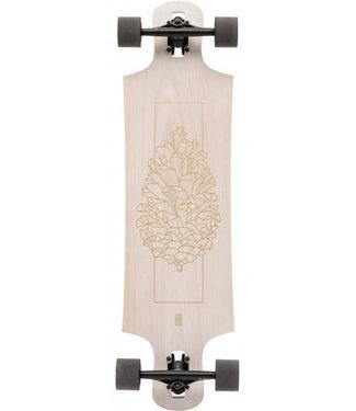 """Landyachtz Drop Hammer White Oak 36.5"""" Complete Longboard"""