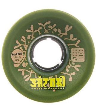 Satori Lil Nuggs Make Wheels 63mm/80A Green