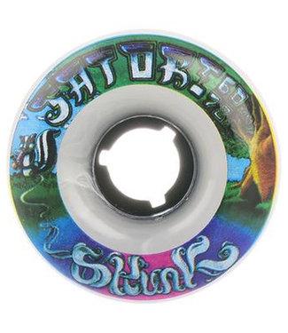 Satori Classic Goo Balls Series Skunk Wheels 60mm/78A Darkgreen