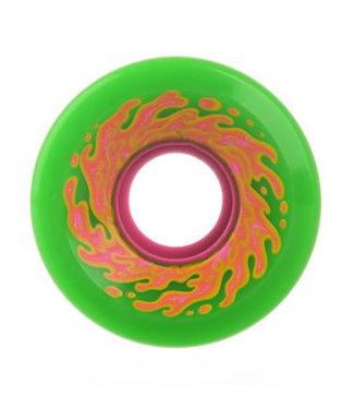 OG Mini Slime Wheels 54.5mm/78A Green-Pink