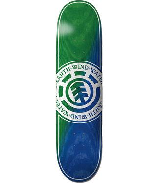 """Element Seal Green Blue 8.3"""" Skateboard Deck"""