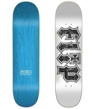 "Flip HKD Thrashed White 8.0"" Skateboard Deck"