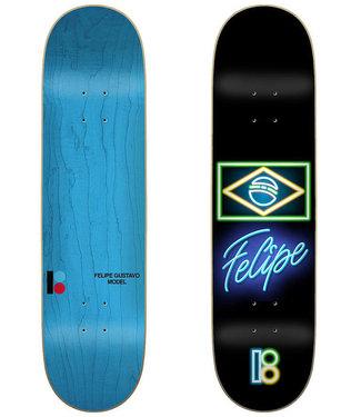 """Plan B Neon Felipe 7.75"""" Skateboard Deck"""