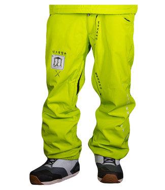 Templeton Hobo Pants Neon Yellow