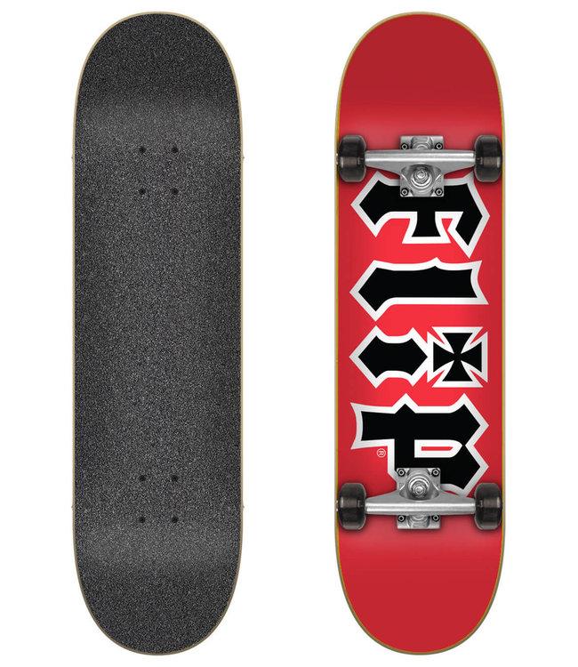 """Flip HDK Red 8.25"""" Complete Skateboard"""