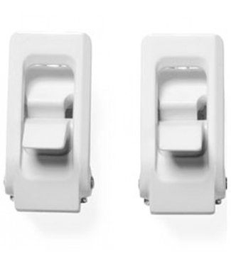 NOW Alu Ankle Buckle Pair White