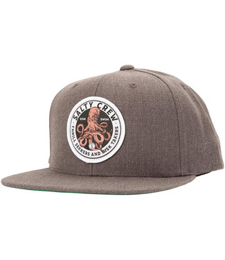 Salty Crew Deep Reach 6 Panel Dark Heather