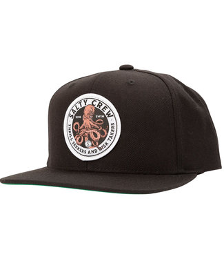 Salty Crew Deep Reach 6 Panel Black