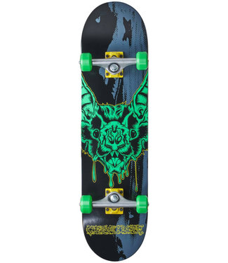 "Creature Dweller Full Black/Grey 8"" Skateboard Complete"
