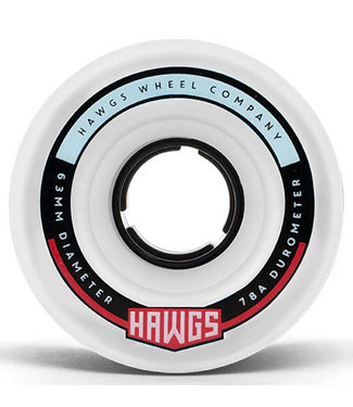 Hawgs Fatty Cruiser Wheels 63mm/78A White