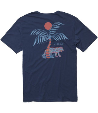 Vissla El Tigre Pocket Tee Dark Denim