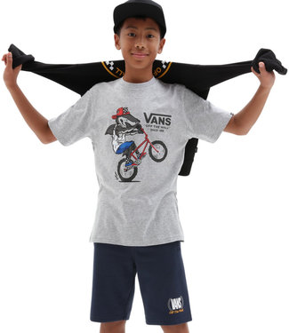 Vans Extreme Shark SS Boys Athletic Heather T-Shirt