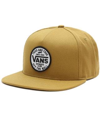 Vans Logo Pack Snapback Dried Tobacco Cap