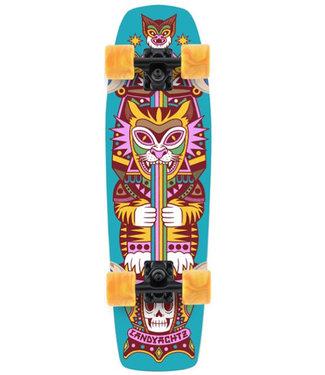 "Landyachtz Dinghy Coffin Kitty 28.2"" Cruiser Skateboard Complete"