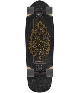 "Landyachtz Dinghy Blunt Pinecone 28.5"" Cruiser Skateboard Complete"
