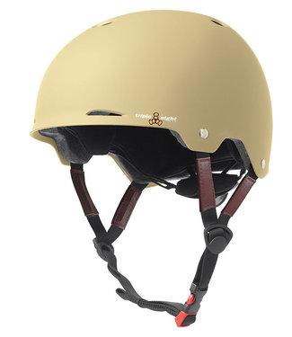 Triple Eight Gotham Cream Matte EPS Liner Skate/Bike Helm
