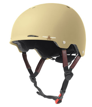 Triple Eight Gotham Skate/Bike Helm Cream Matte