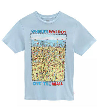 Vans X Waar is Wally Beach SS Boys T-Shirt