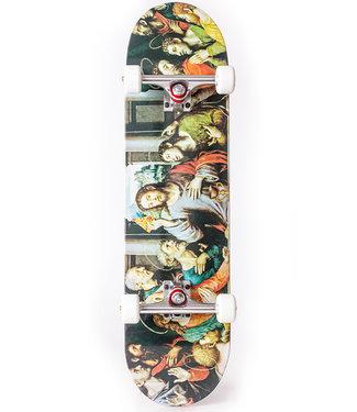 "Pizza Skateboards 8.25"" Last Supper Complete Skateboard"