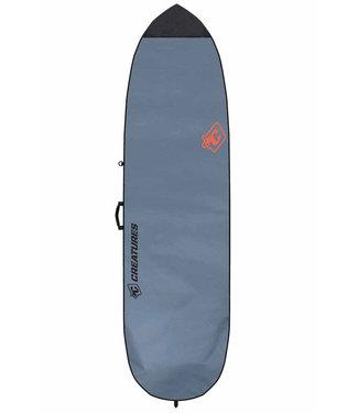 "Creatures Of Leisure 5'10"" Fish Lite Surf Boardbag Charcoal Orange"