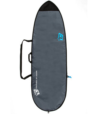 "Creatures Of Leisure 6'0"" Fish Lite Surf Boardbag Charcoal Cyan"
