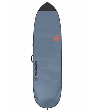 "Creatures Of Leisure 6'3"" Fish Lite Surf Boardbag Charcoal Orange"