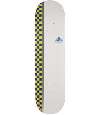 Sushi Skateboards Sushi Decks Checker Logo White 8.125