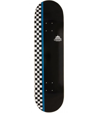 Sushi Skateboards Sushi Decks Checker Logo Black 8.25