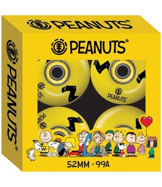 Element Peanuts Charlie Brown 52 mm Skateboard Wheels