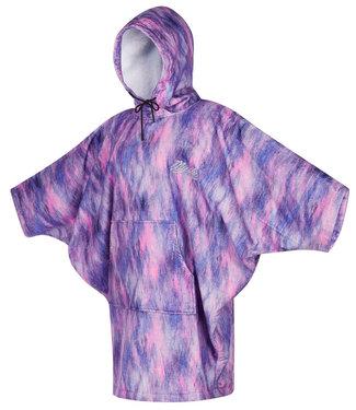 Mystic Poncho Women Black/Purple2021