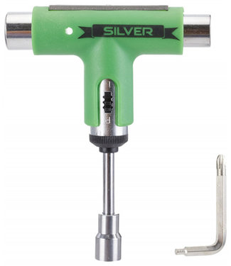 Silver Premium Skatetool Lager Green Black