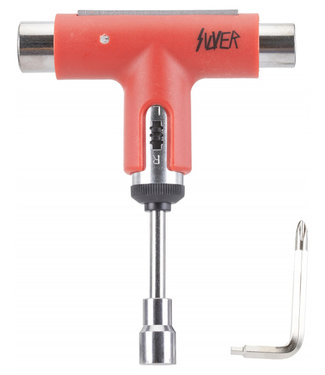 Silver Premium Skatetool Slayer Red