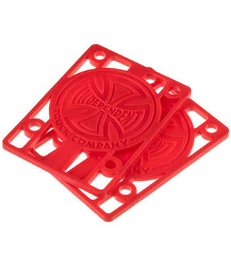 "Independent Red Riser Shockpads 1/8"" (Pack of 2)"